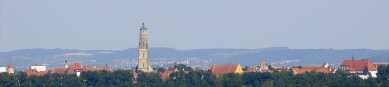 Panorama der Stadt Nördlingen